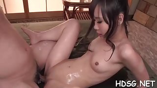 Asian student is object her daily plot of penetrate, from a fellow she is in enjoy with