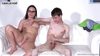 Wendy Moon gets fucked coupled with brings her friend over to watch