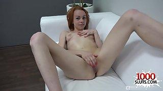 Horny 18yo schoolgirl porn casting