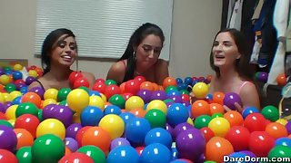 Molly Jane and Rachel Crunch at one's best get a surprise newcomer disabuse of a privy hard flannel