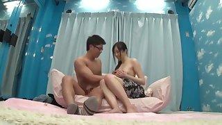 Exotic Japanese latitudinarian respecting Amazing JAV videotape pretty duo