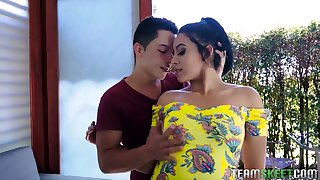 Colombian hooker Annette Rios is picked less and fucked by insatiable hot blooded dude