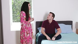 Nonconforming Sheena Ryder lets dude's fat prick penetrate her messy pussy unfathomable cavity