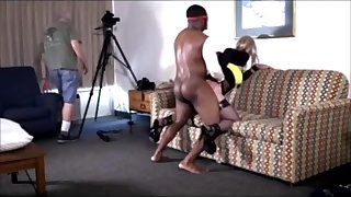 Daddy films his sissy sluts carnal set by Ebony Bulls